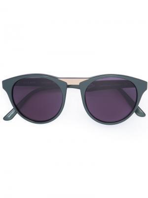 Солнцезащитные очки Black Betty Smoke X Mirrors. Цвет: зелёный