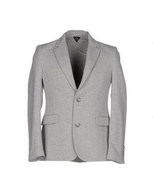 Пиджак TEE-TREND. Цвет: светло-серый