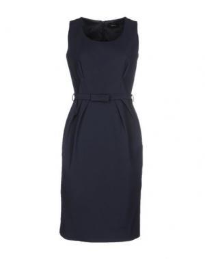 Платье до колена MALAICA. Цвет: темно-синий
