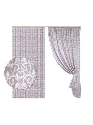 Портьера Версаль 200х270 см. T&I. Цвет: розовый
