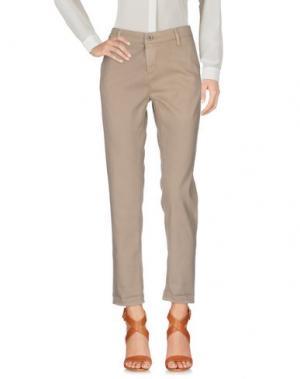 Повседневные брюки AG ADRIANO GOLDSCHMIED. Цвет: хаки