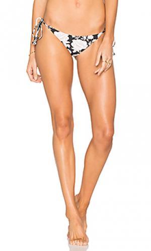 Низ бикини allegra Tori Praver Swimwear. Цвет: черный