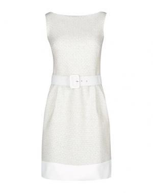 Короткое платье CHIARA BONI LA PETITE ROBE. Цвет: слоновая кость