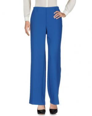 Повседневные брюки QL2 QUELLEDUE. Цвет: синий