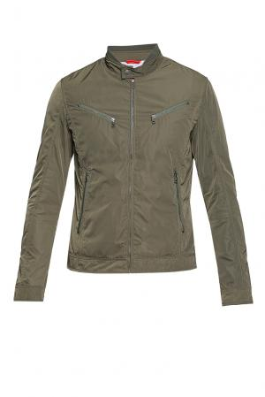 Куртка BE-187323 Censured. Цвет: зеленый