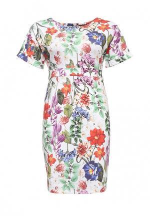 Платье Bestia Donna. Цвет: разноцветный