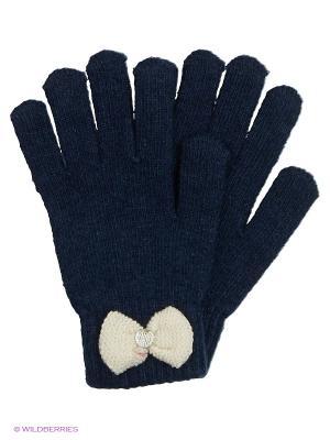 Перчатки Modis. Цвет: синий, белый