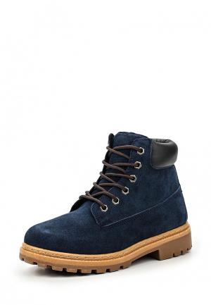 Ботинки Topway. Цвет: синий