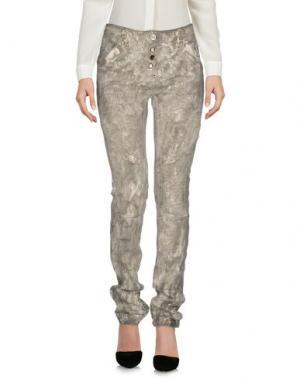 Повседневные брюки DANIELA DALLA VALLE ELISA CAVALETTI. Цвет: голубиный серый