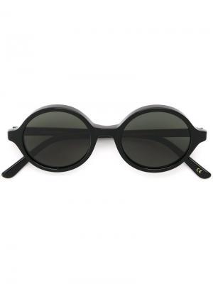 Солнцезащитные очки Doc Han Kjøbenhavn. Цвет: чёрный