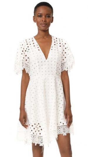 Мини-платье Dont Say Talulah. Цвет: белый