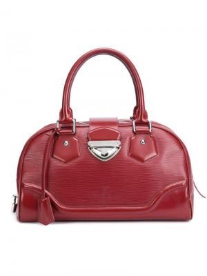 Сумка-тоут Montaigne GM Louis Vuitton Vintage. Цвет: красный