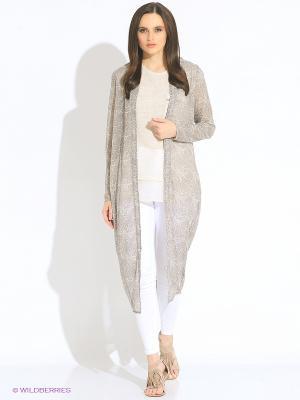 Кардиган Vero moda. Цвет: серый, белый