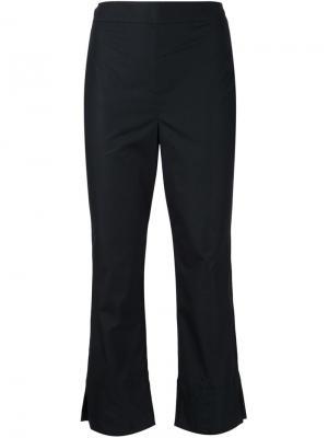 Укороченные брюки Jasmin Shokrian. Цвет: чёрный