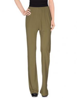 Повседневные брюки ROSSOPURO. Цвет: зеленый-милитари
