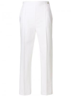 Straight trousers Elisabetta Franchi. Цвет: белый