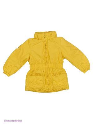 Куртка NELS. Цвет: желтый