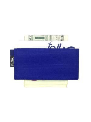 Мини кошелек кардхолдер K.So.U-Five K.So.. Цвет: синий