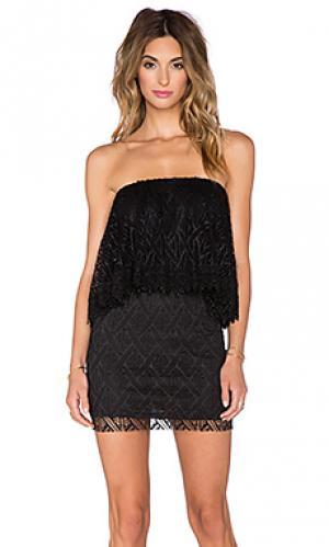 Мини платье T-Bags LosAngeles. Цвет: черный