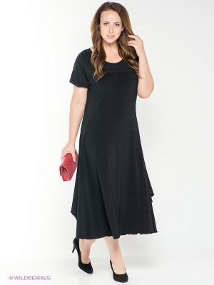 Платье AMAZONE. Цвет: черный