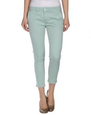 Повседневные брюки KAYLA. Цвет: светло-зеленый