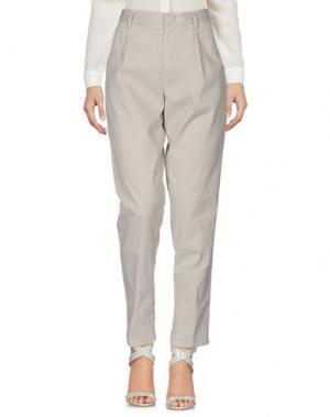 Повседневные брюки SCAGLIONE CITY. Цвет: серый