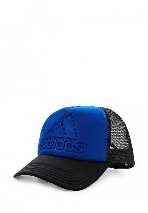 Бейсболка adidas Performance. Цвет: синий