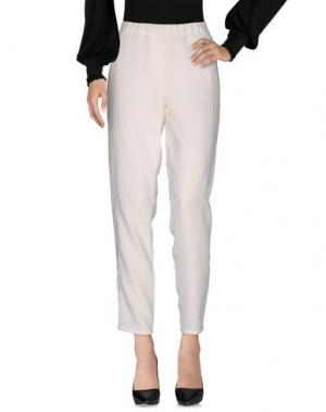 Повседневные брюки SLY010. Цвет: слоновая кость