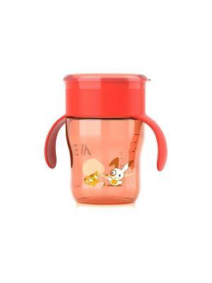 Взрослая чашка Philips Avent SCF782/00, 260 мл, 12 мес.+. Цвет: красный