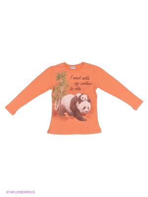 Толстовка MISS ZELISH. Цвет: оранжевый