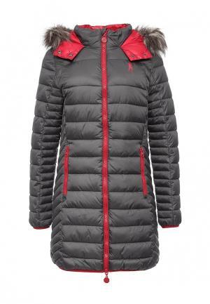Куртка утепленная Boxeur Des Rues. Цвет: серый