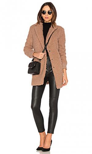 Пальто с ворсом antebellum cupcakes and cashmere. Цвет: сиреневый