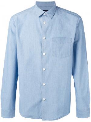 Classic shirt A.P.C.. Цвет: синий