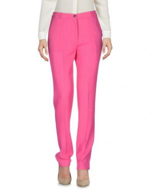 Повседневные брюки PICCIONE•PICCIONE. Цвет: фуксия