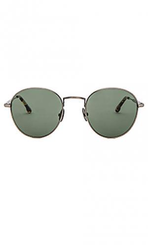 Солнцезащитные очки quincy Steven Alan. Цвет: металлический серебряный