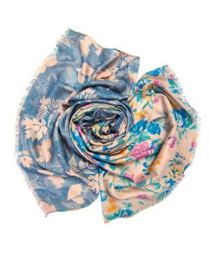 Платок женский, размер 185x70 см Charmante. Цвет: синий