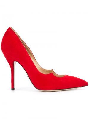 Туфли Zenadia Paul Andrew. Цвет: красный