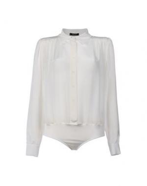 Pубашка HANITA. Цвет: белый