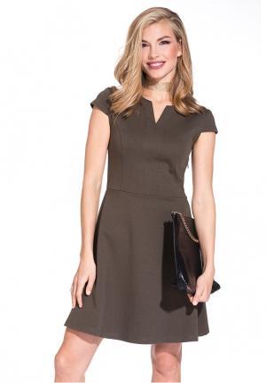 Платье Gloss. Цвет: коричневый