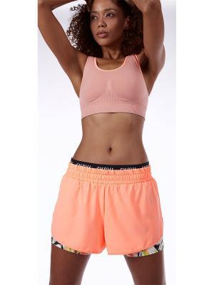 Спортивные шорты Skiny. Цвет: персиковый
