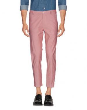 Повседневные брюки MAESTRAMI. Цвет: красный