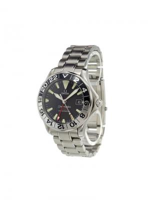 Seamaster 50th Anniversary GMT analog watch Omega. Цвет: none