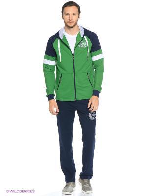 Спортивный костюм RED-N-ROCK'S. Цвет: зеленый