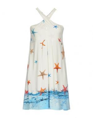 Короткое платье EAN 13. Цвет: слоновая кость