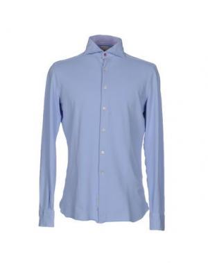Pубашка DOMENICO TAGLIENTE. Цвет: небесно-голубой