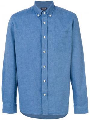 Джинсовая рубашка Woolrich. Цвет: синий