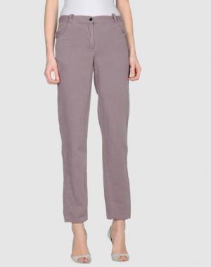 Повседневные брюки RE.SET. Цвет: розовато-лиловый
