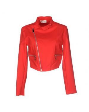Куртка LORELLA SIGNORINO. Цвет: красный
