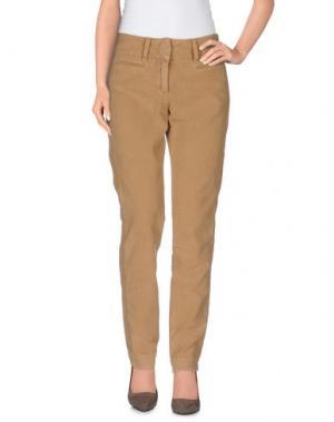 Повседневные брюки MASSIMO ALBA. Цвет: верблюжий