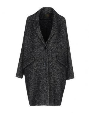 Пальто DES PETITS HAUTS. Цвет: темно-синий